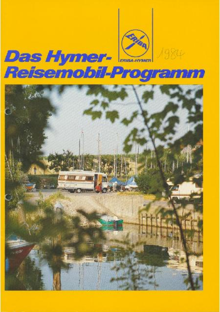 catalogus hymer 1984