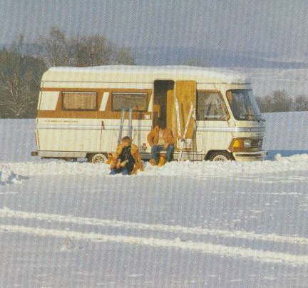 Hymer S 550 Winter
