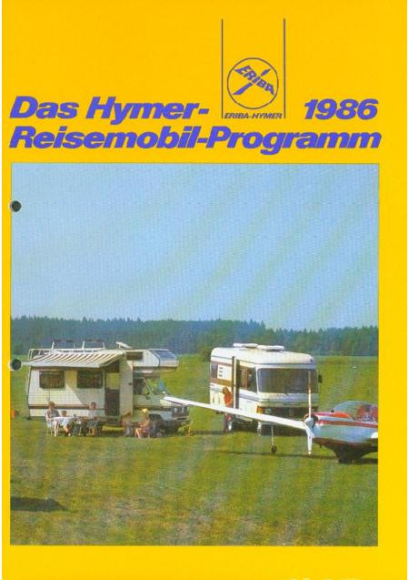 catalogus hymer 1986