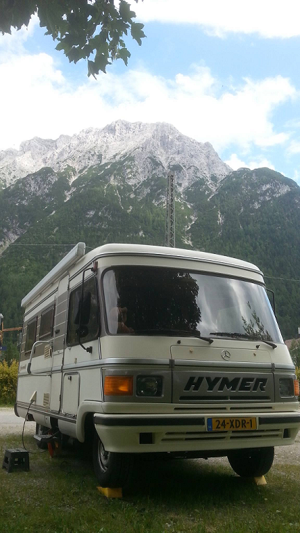 Hymer S 550 Voorene