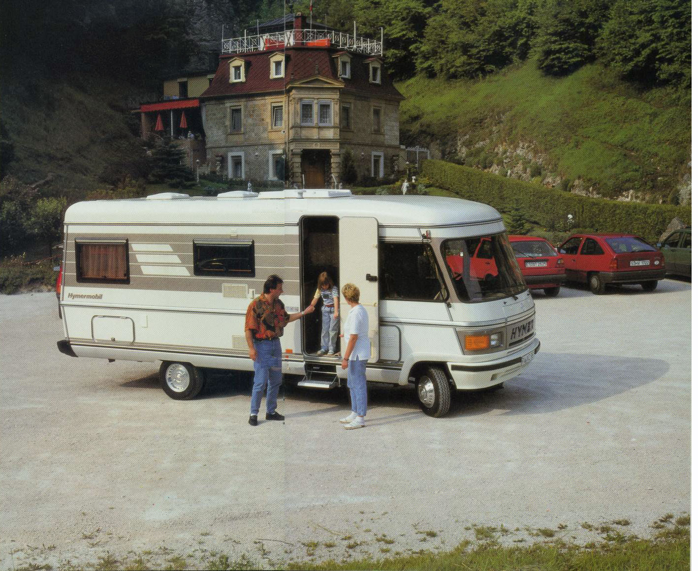 Hymer S 660 familie 1991
